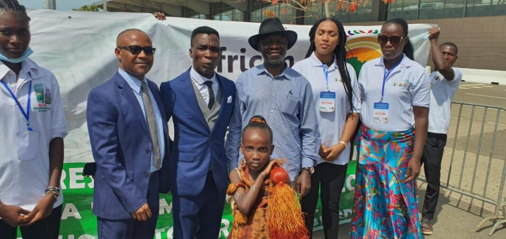 African Tourism Board Chair in Abidjan, Ivory Coast
