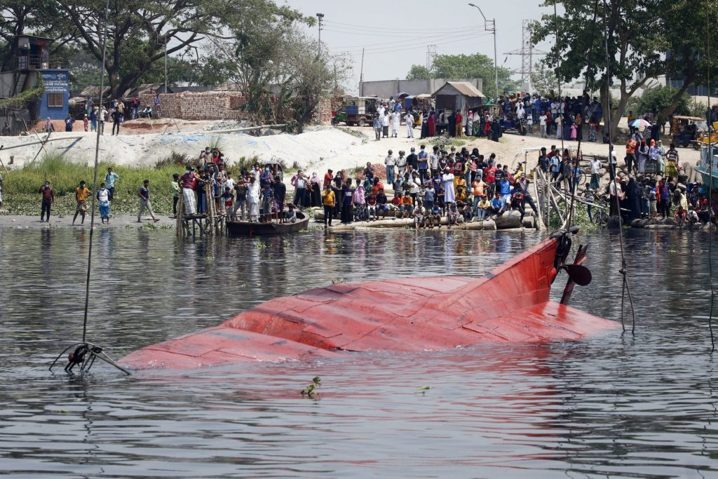 At least 21 killed, dozens missing in Bangladesh boat disaster